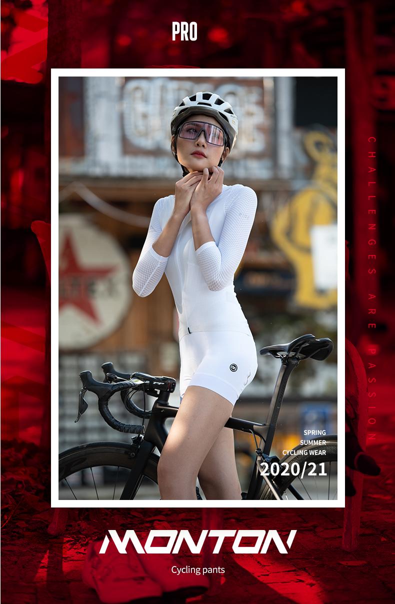 white cycling bibs