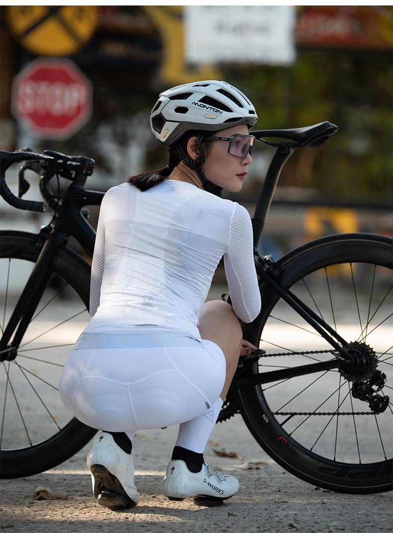female cycling bibs