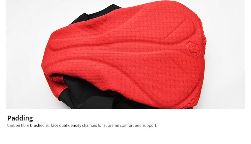 pro red padding chamois