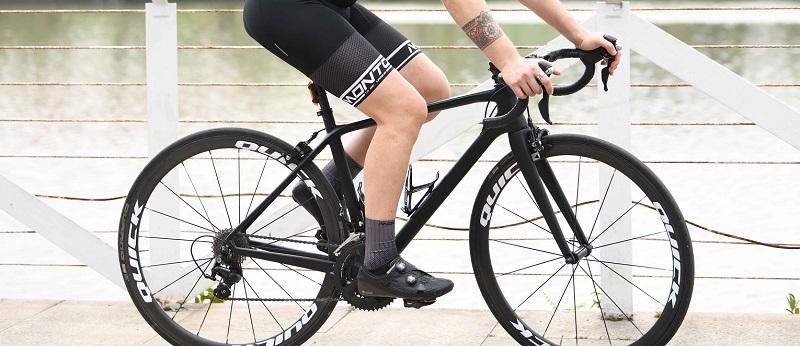 grey cycling socks