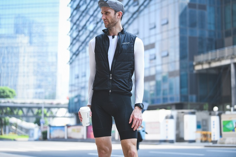insulated gilet cycling