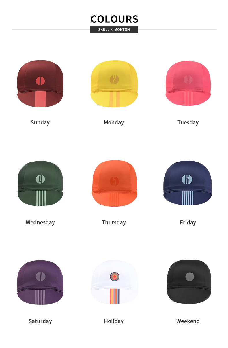 unique cycling caps