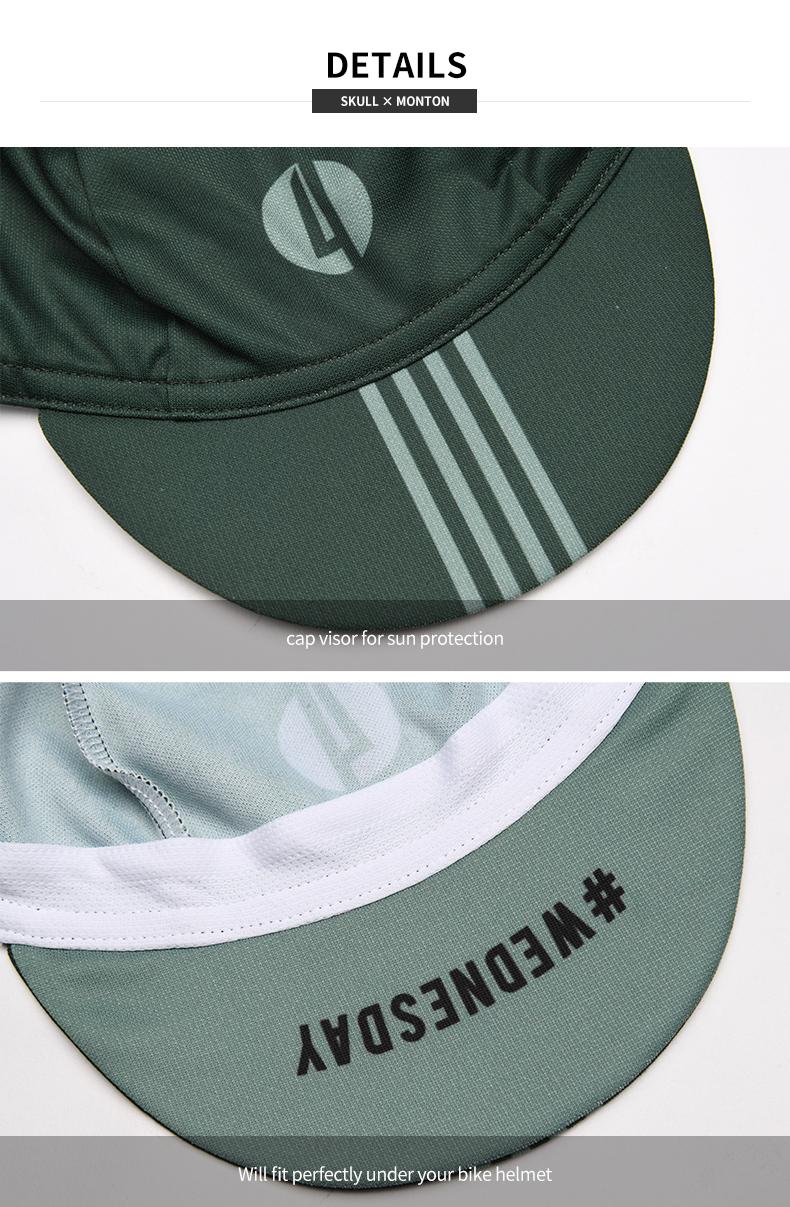 cycling caps visor