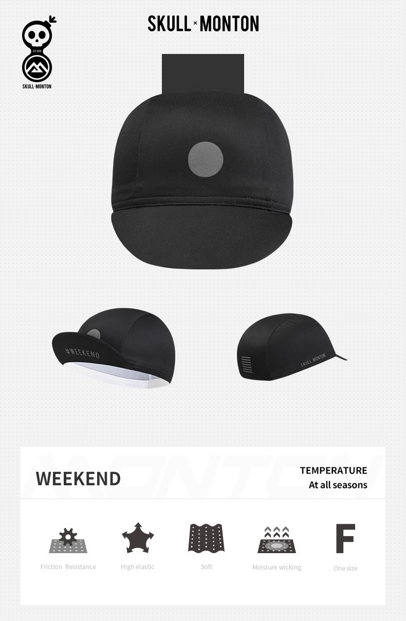 bike cap under helmet