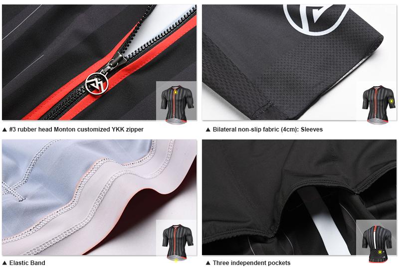 Premium cycling jersey