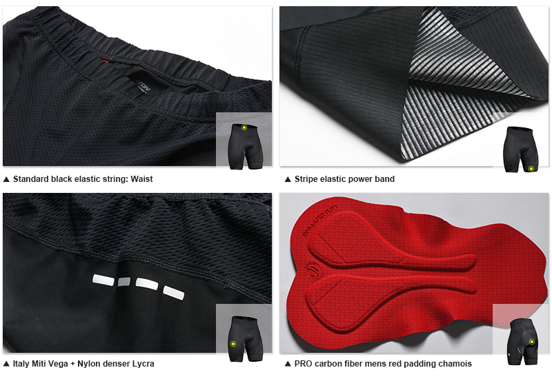 cycling shorts men
