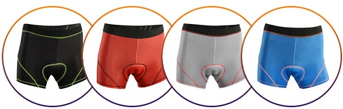 Cycling Underwear Multi-color for Option