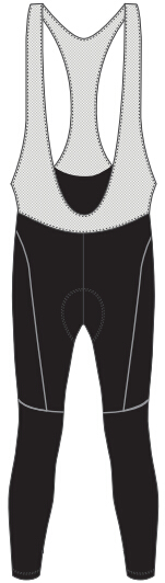 custom cycling bib tights