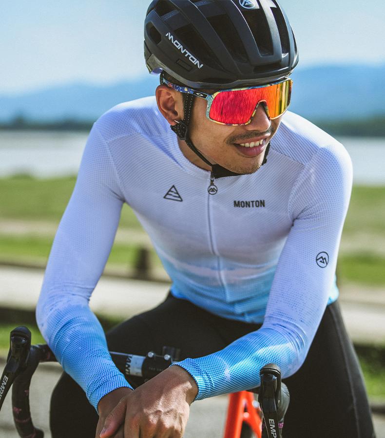 mens thermal cycling jersey