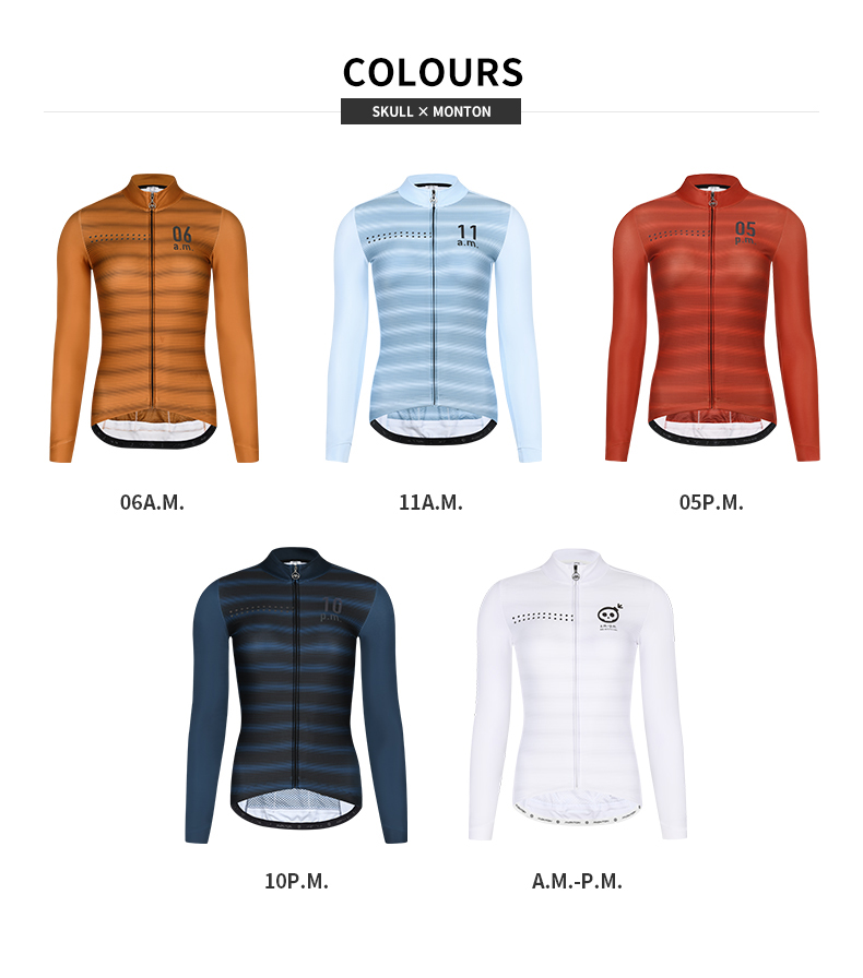 womens long sleeve thermal cycling jersey
