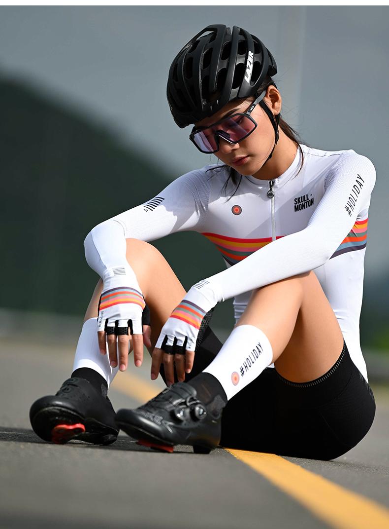 best short finger cycling gloves