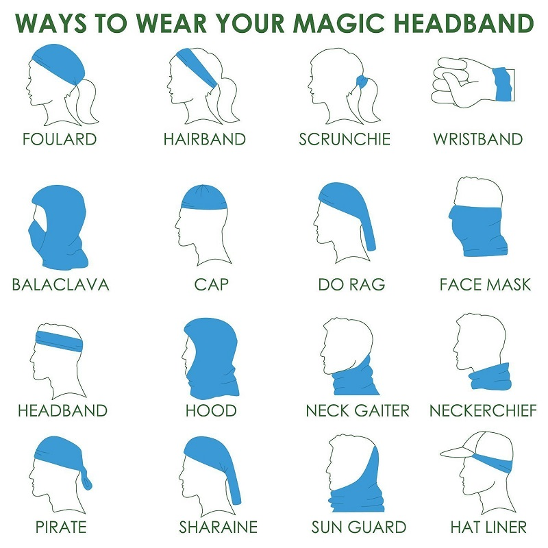How to use magic headband