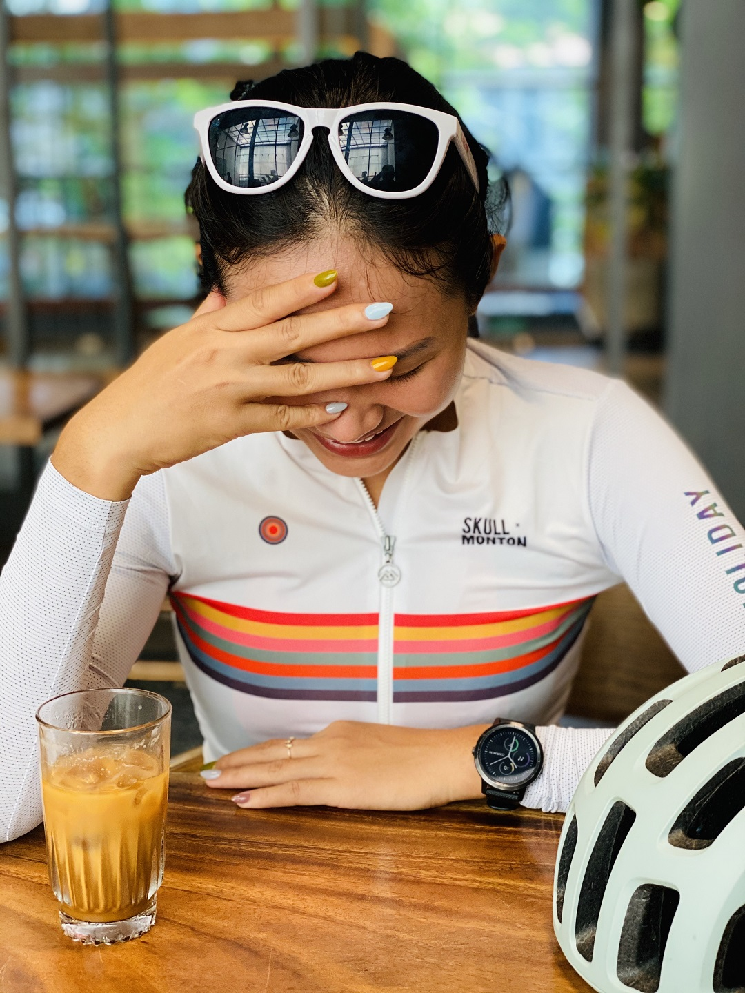 ladies long sleeve cycling jersey