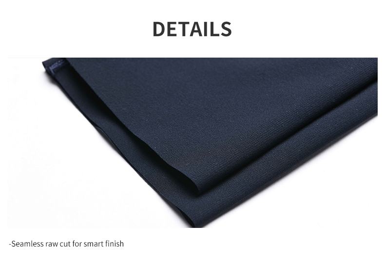Seamless raw cut for smart finish