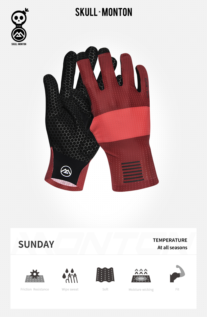 full finger cycling gloves