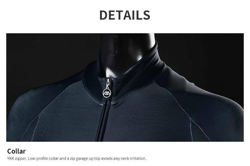zipper and collar