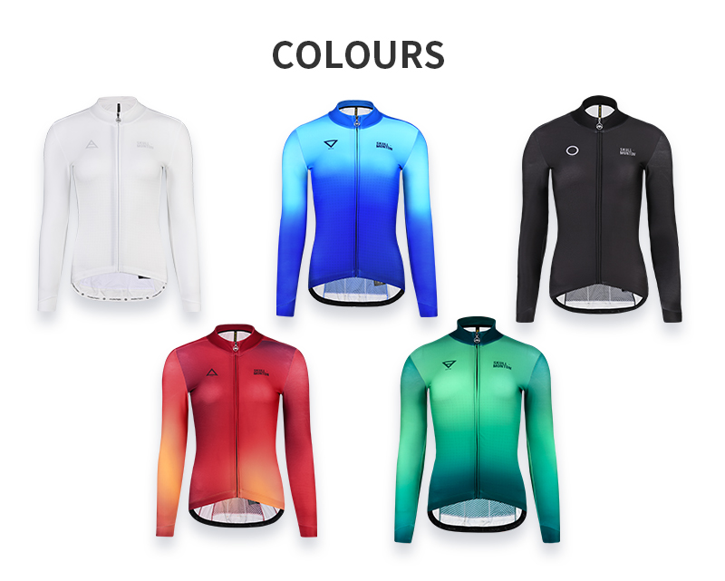 Winter long sleeve thermal cycling jersey