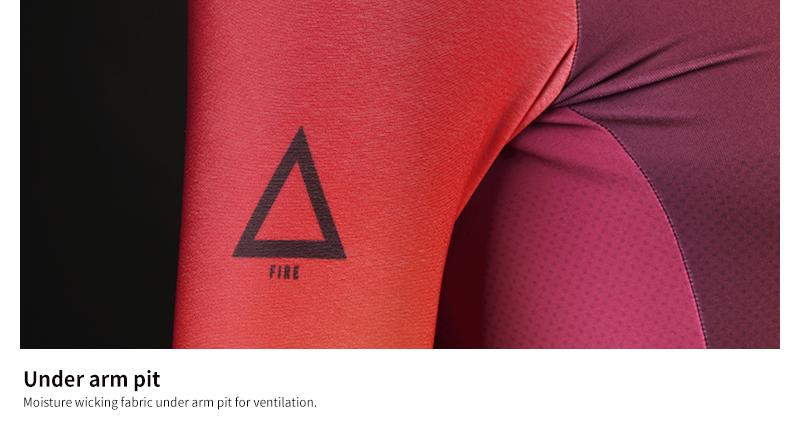 good ventilation under arm pit