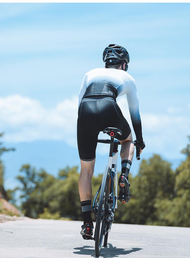 summer long sleeve cycling jersey
