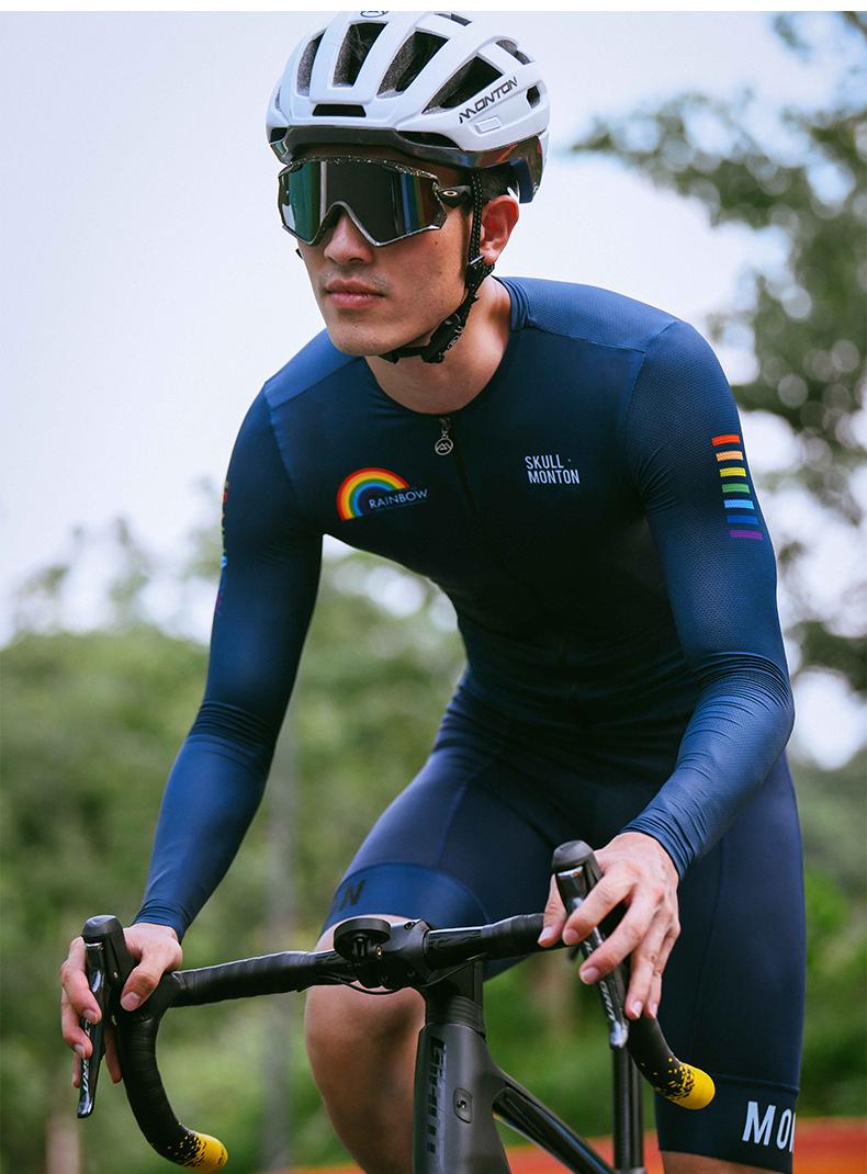 long sleeve uv cycling jersey
