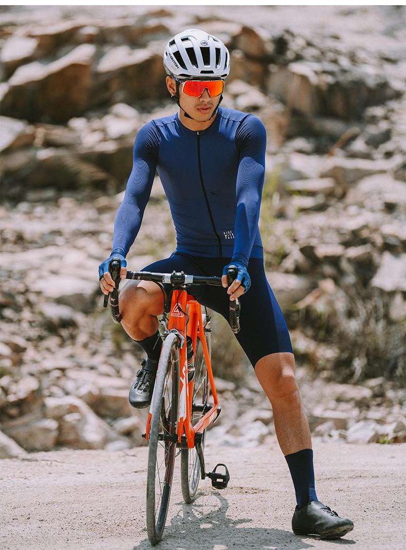 long sleeve cycling jersey mens