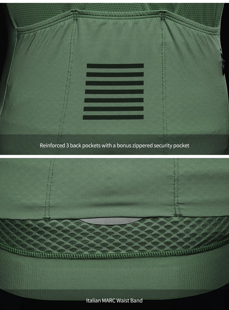 back pockets and waist band