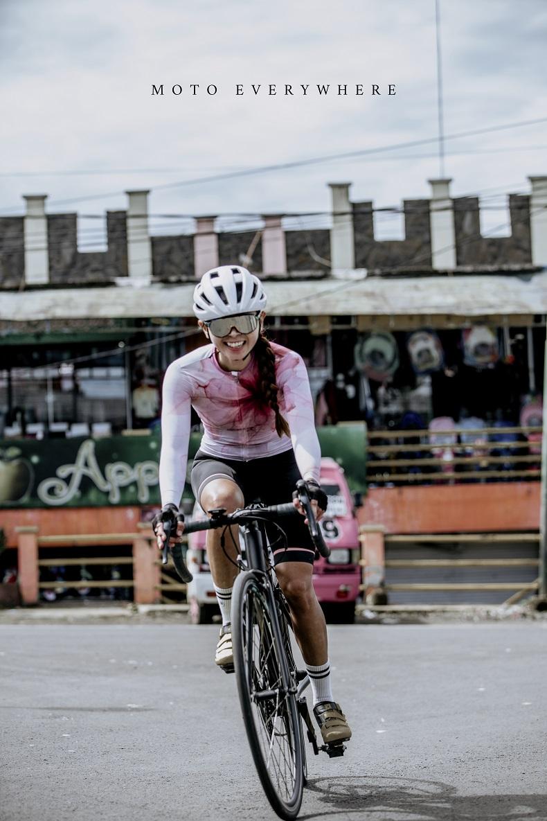 women's long sleeve cycling jersey sale