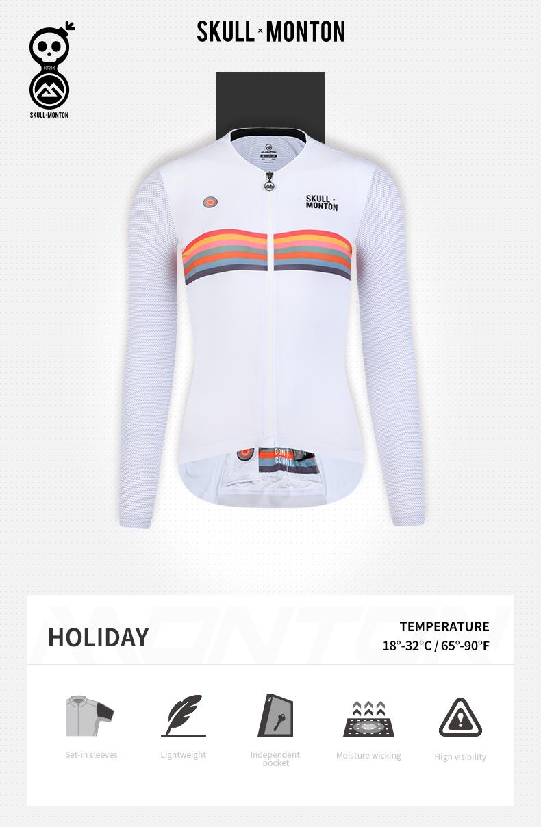 long sleeve cycling tops
