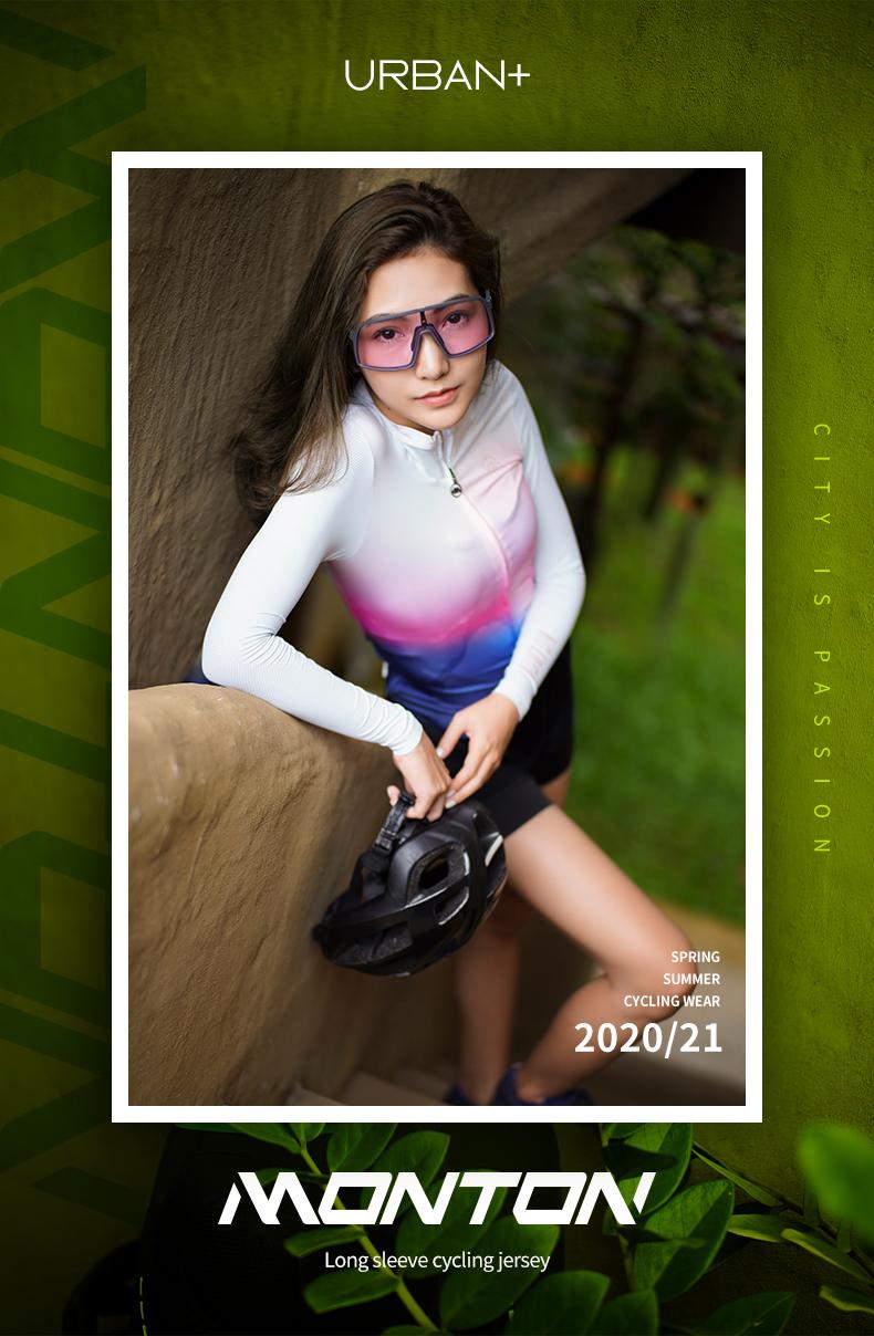 womens long sleeve bike jersey