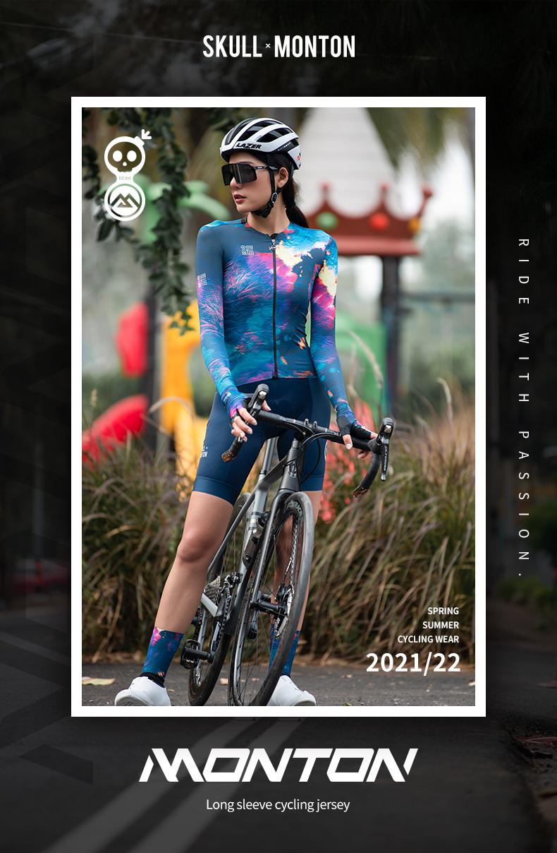 women's long sleeve cycling jersey