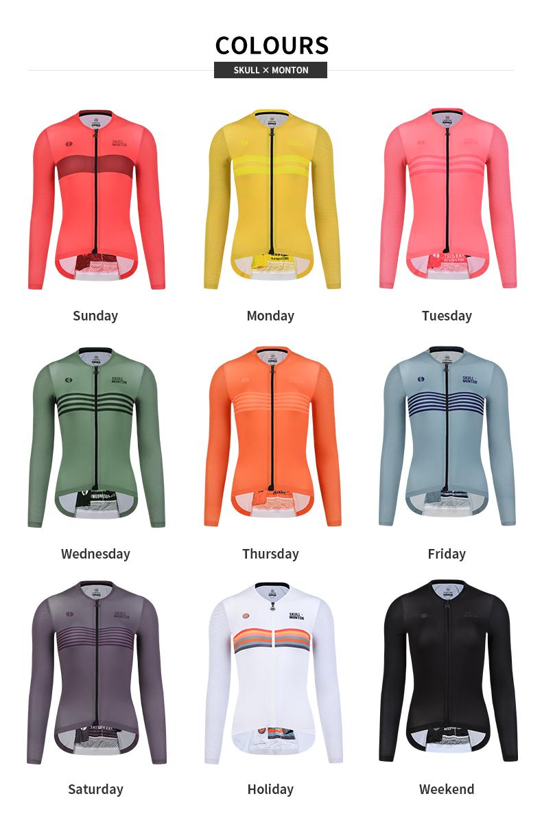 womens cycling long sleeve jersey