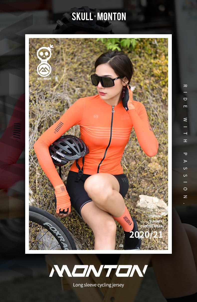 cycling long sleeve top