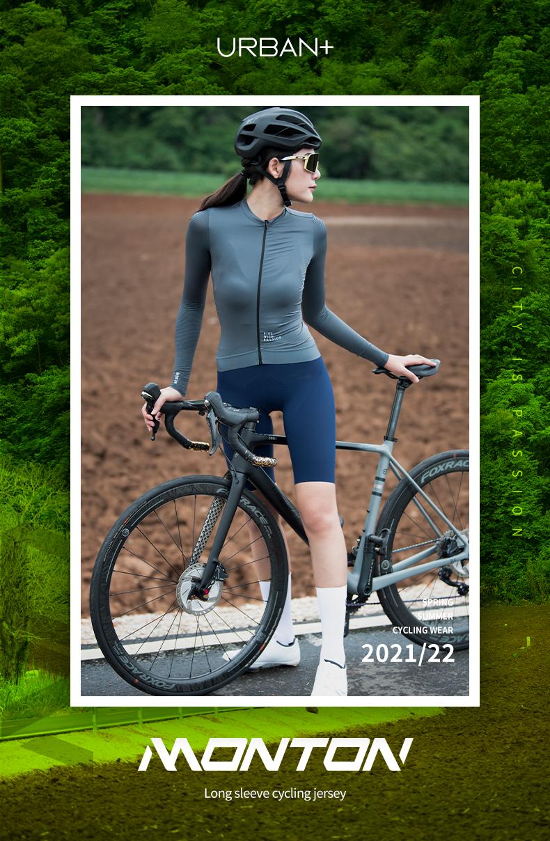 long sleeve summer cycling jersey womens
