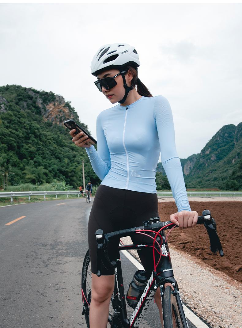 women's cycling jersey long sleeve