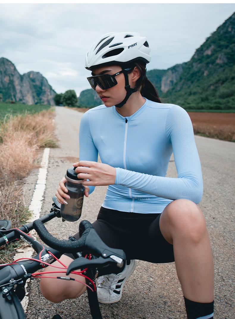 women's long sleeve summer cycling jersey
