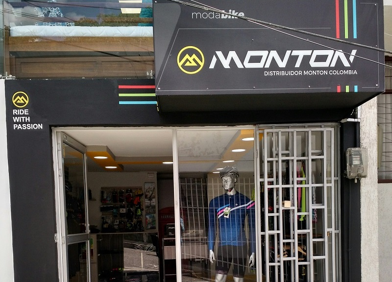 Monton Cycling Colombia store