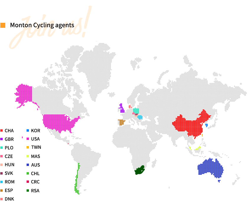 Monton Cycling Agents Around the World