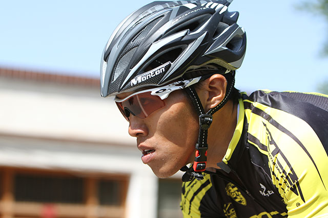 Cyclist of RTS Sponsored by Monton with Monton Helmet