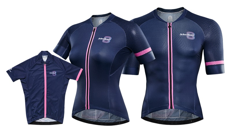 parent child cycling jersey