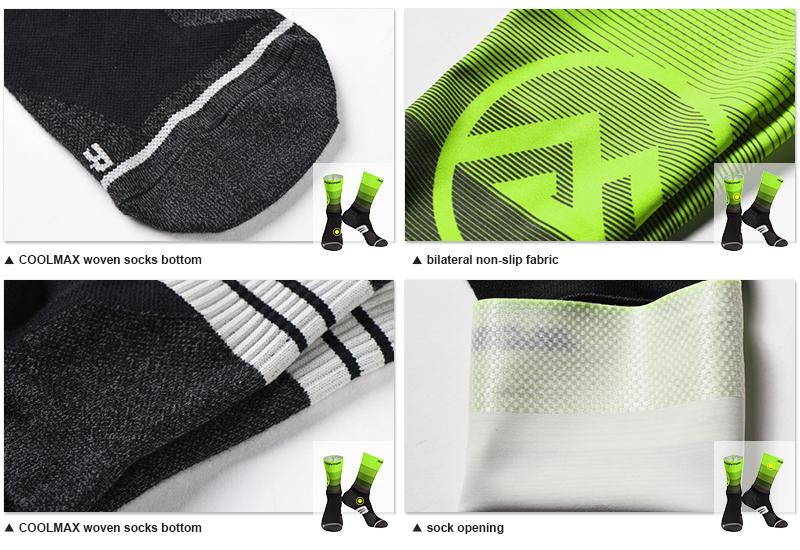 bicycle compression socks fabric
