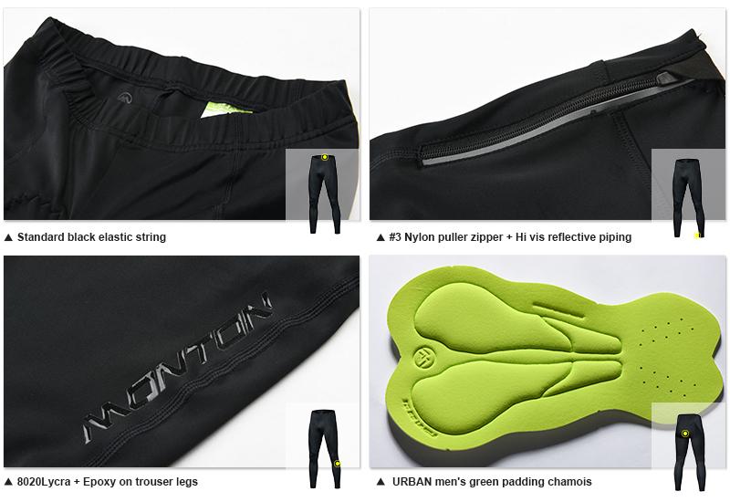 Padded cycling pants