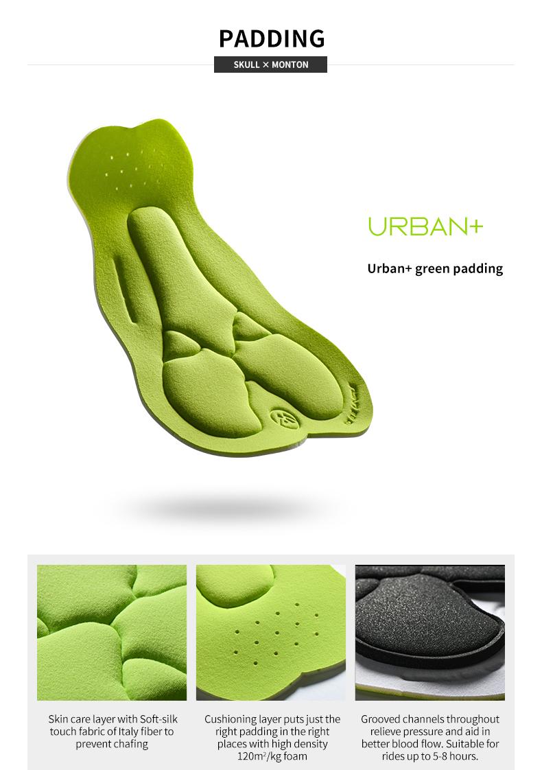 Urban green padding