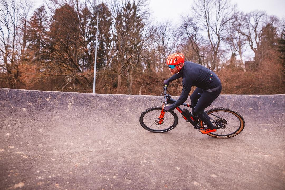 water resistant cycling bib tights
