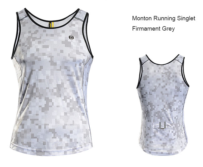 28c79e44c2e88f 2015 Monton Mens best running tank top Firmament Grey Front and Back