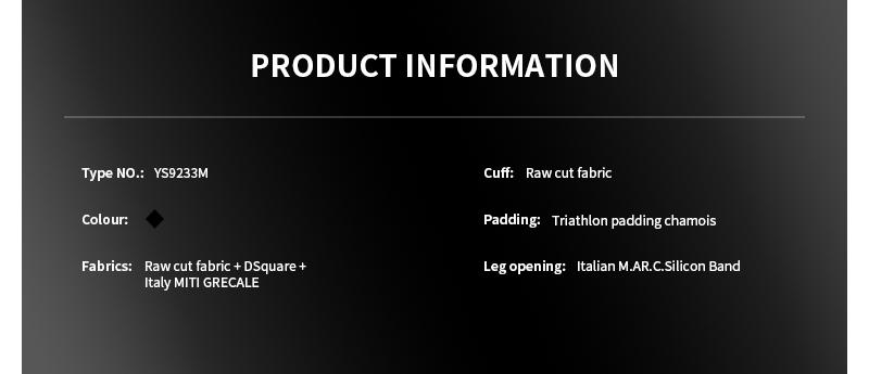 triathlon skinsuit YS9233M
