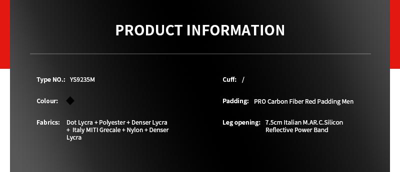 Bike Skin Suit Custom Template YS9235M