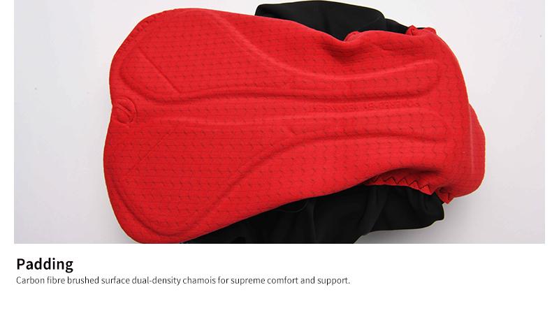 Carbon fiber PRO padding chamois