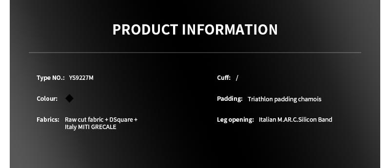 triathlon skinsuit YS9227M