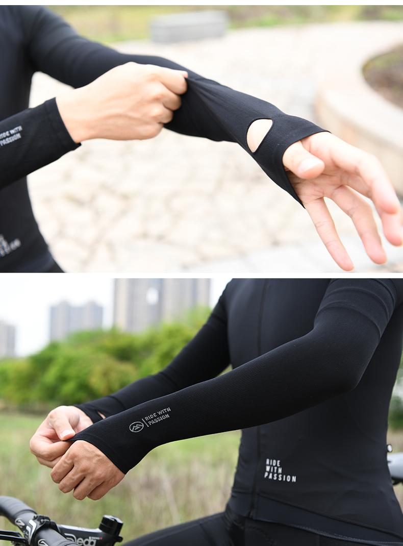 uv arm sleeves cycling