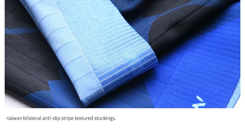 taiwan bilateral anti-slip stripe textured stockings